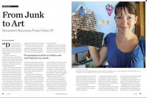 From Junk to Art - Sarah Goff - The Repurpose Project