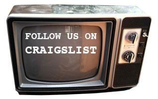 Follow Us on CRAIGSLIST