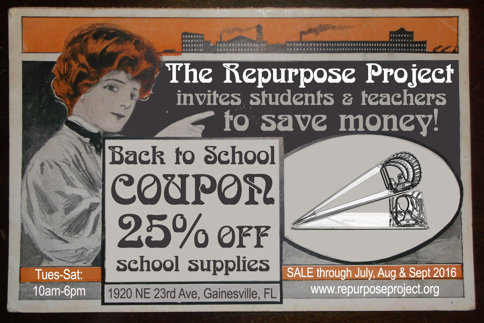 Back to School Sale – thrift store, salvage store, reuse ...